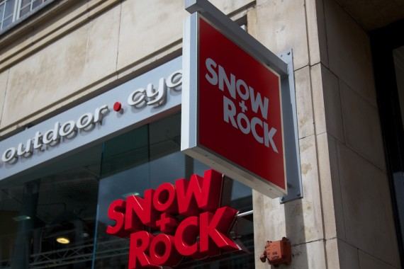Snow and Rock at High Street Kensington. The most comprehensive store for ski wear in the UK.