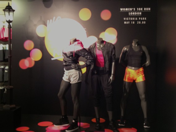Niketown also boasts the largest collection of women's activeware in the UK.