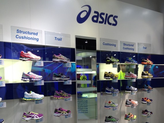 Asics Flagship Store near Oxford Circus. I found a new pair of trail runners!