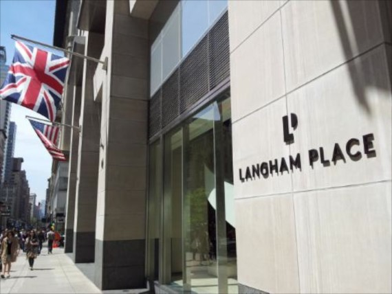 LANGHAM PLACE, FIFTH AVENUE