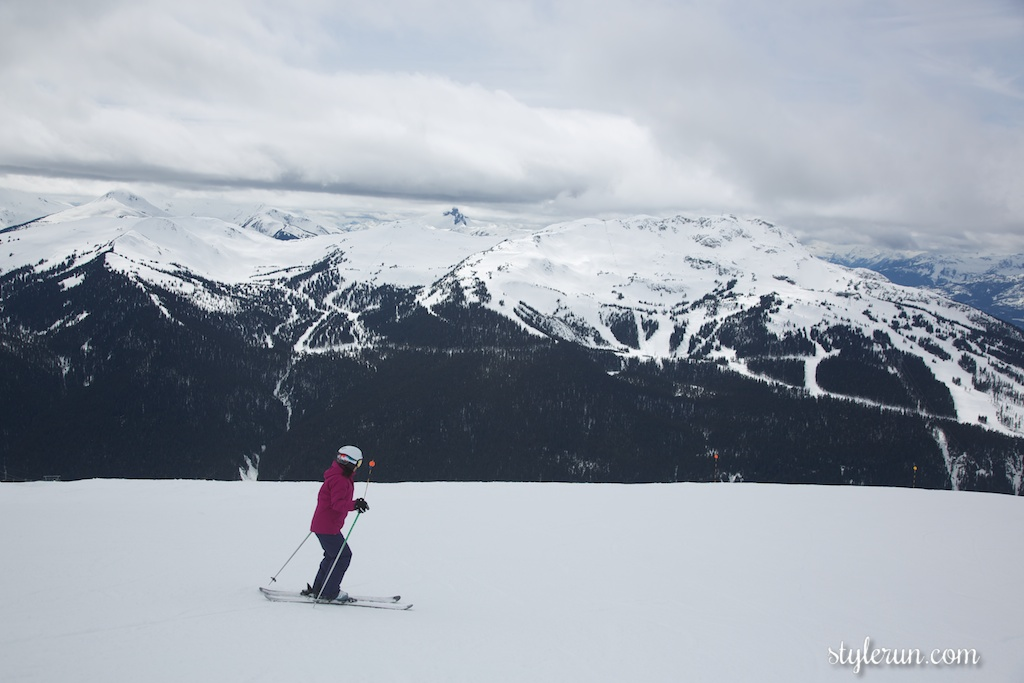 SPRING SKIING IN WHISTLER